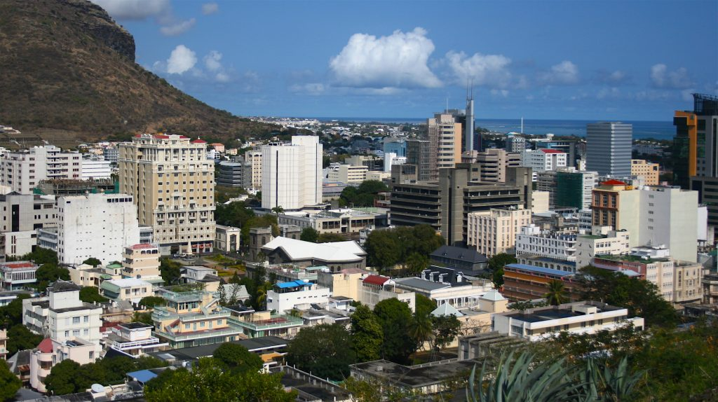 Port Luis, Mauritius. This island nation is one of the few in Africa considered to exhibit features of a developmental state.