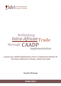 Rethinking Intra-African Trade Through CAADP