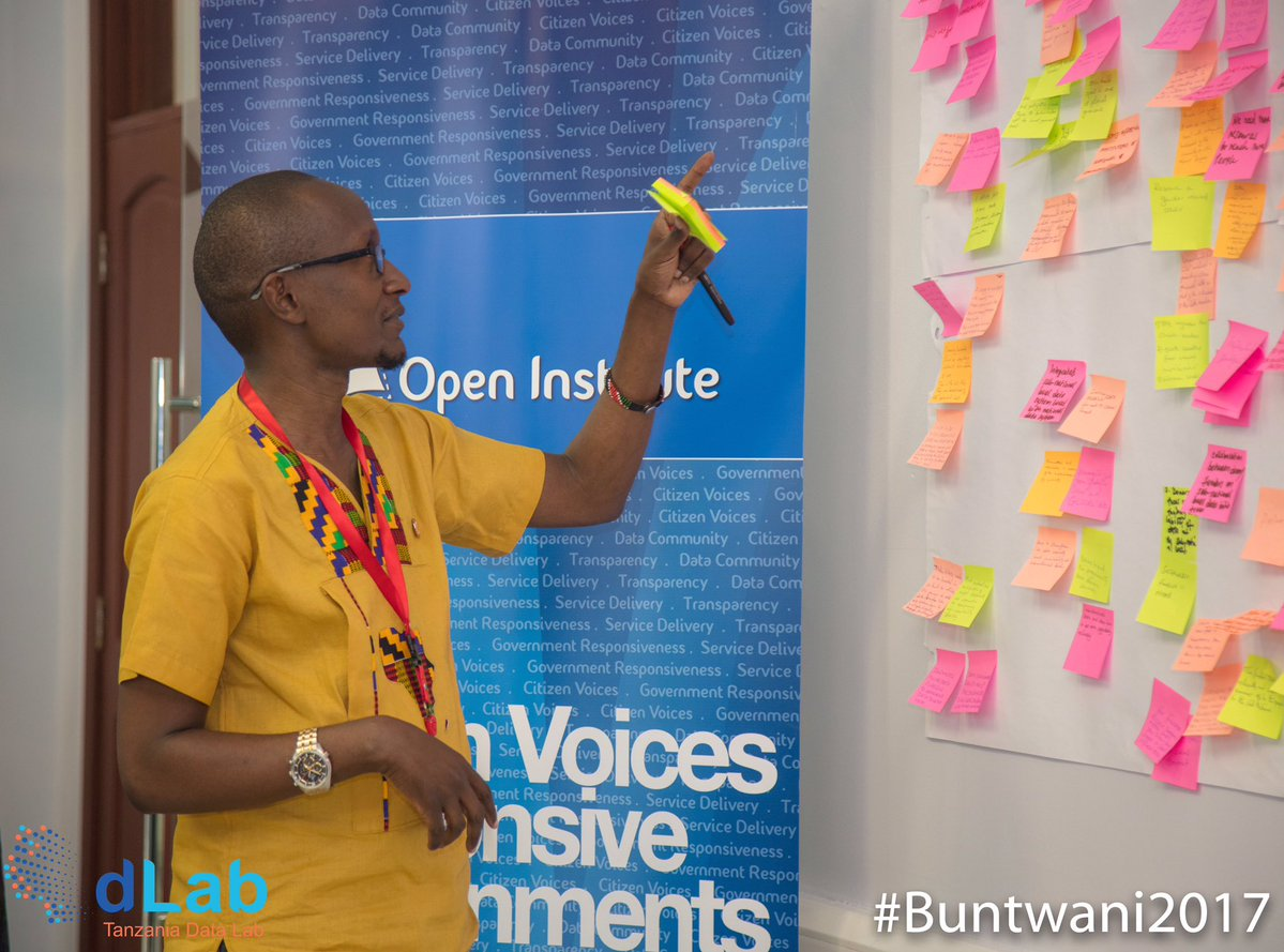LDRI's Mr. MuchirI Nyaggah, facilitating a session at Buntwani 2017