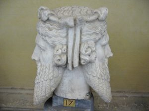 The Roman god, Janus