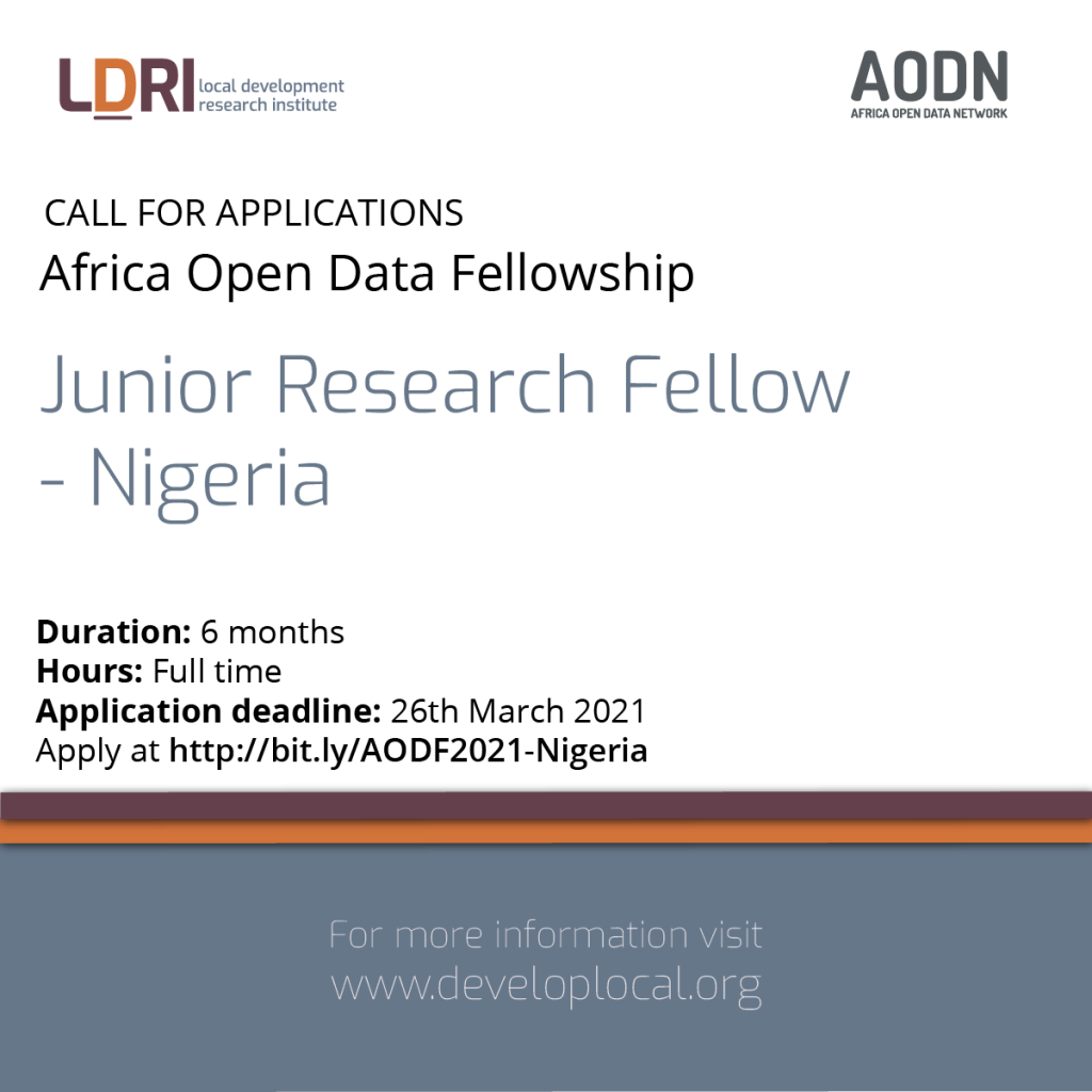 Research Fellow – Nigeria (1)